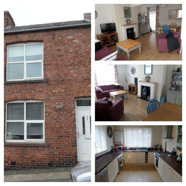 3 Bedrooms Terraced House for sale in BANNERMAN TERRACE, USHAW MOOR, DURHAM CITY : VILLAGES WEST OF