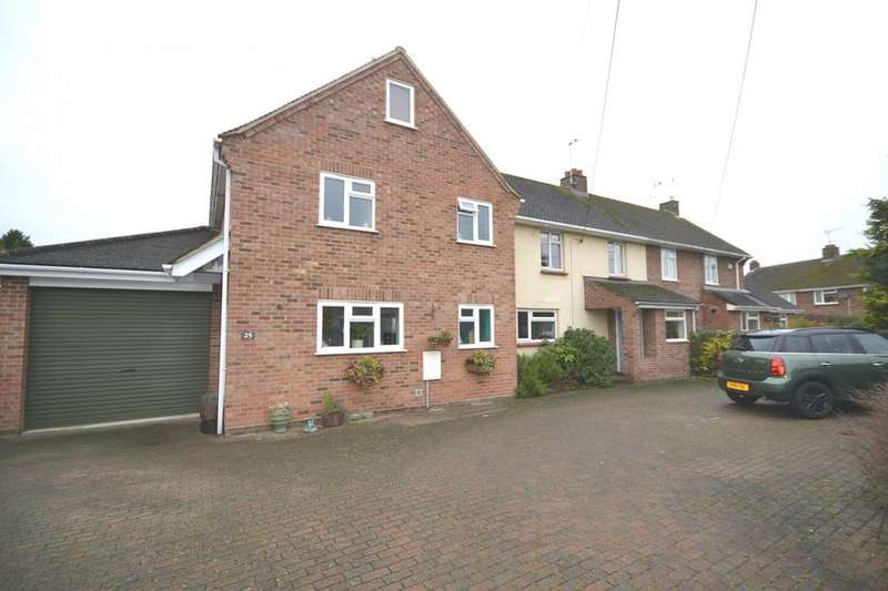 5 Bedrooms Semi Detached House for rent in Ravens Crescent, Felsted, Dunmow, Essex, CM6