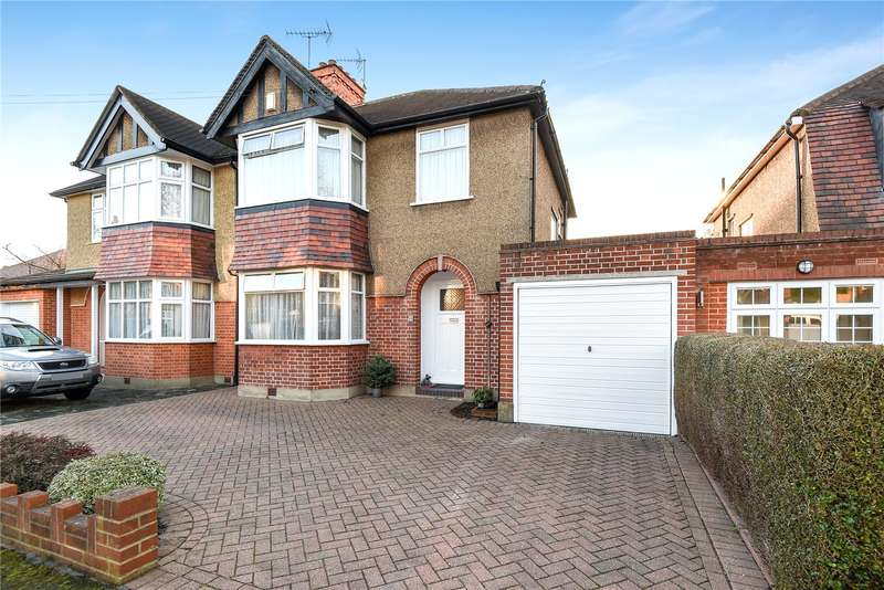 3 Bedrooms Semi Detached House for sale in Crescent Gardens, Ruislip, Middlesex, HA4