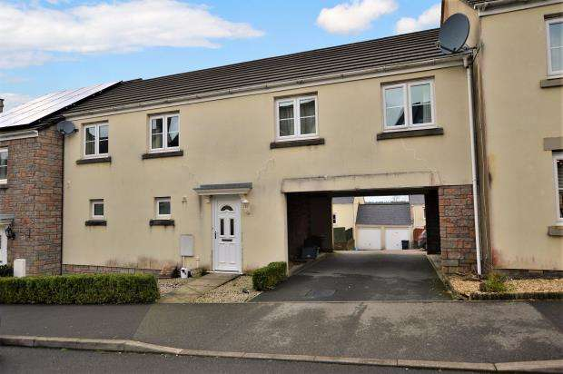 2 Bedrooms Terraced House for sale in Broad Park, Okehampton