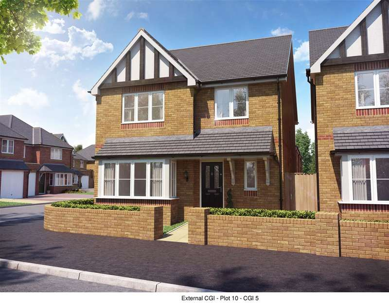 4 Bedrooms Detached House for sale in The Elms, Rickerscote Road, Stafford