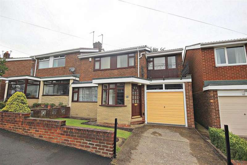 4 Bedrooms Semi Detached House for sale in Ross, Ouston, Chester Le Street