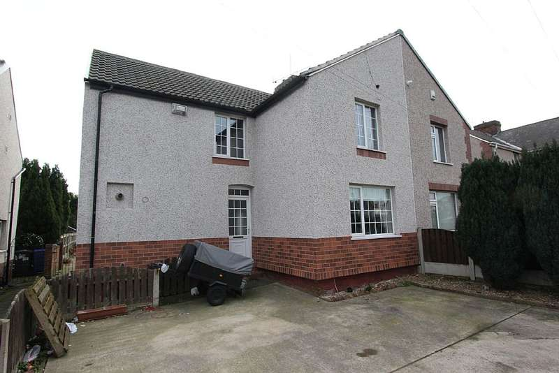 3 Bedrooms Semi Detached House for sale in Windmill Balk Lane, Woodlands, Doncaster, South Yorkshire, DN6 7SE