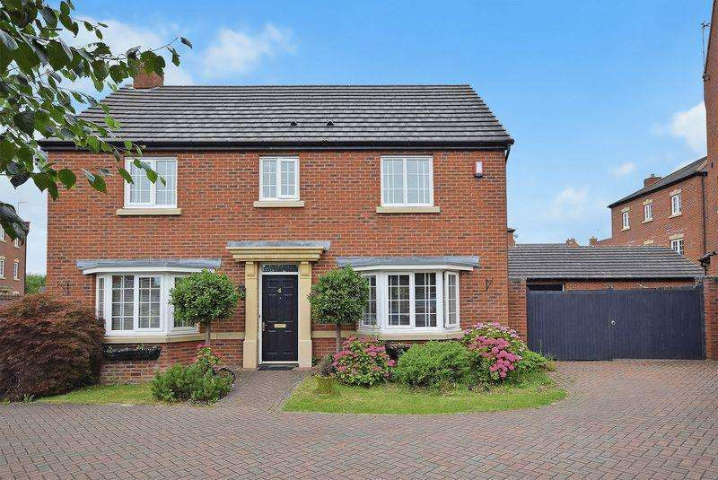 4 Bedrooms Detached House for sale in Regency Park, Widnes