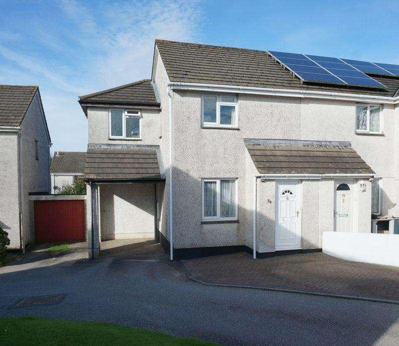 3 Bedrooms Semi Detached House for sale in Cedar Close, Callington