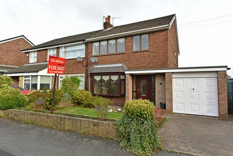 3 Bedrooms Semi Detached House for sale in Milman Close, Ormskirk
