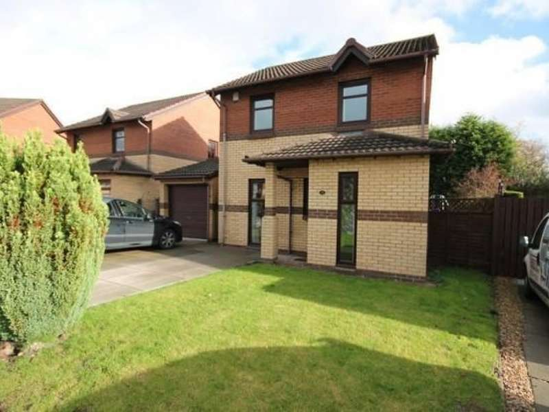 3 Bedrooms Detached House for sale in 31 Cameronian Place, Bellshill, ML4 2UG