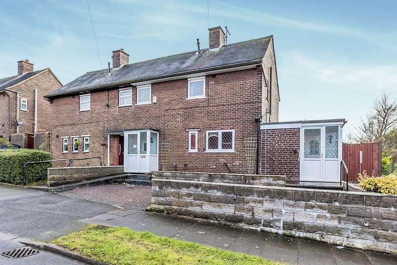 2 Bedrooms Semi Detached House for sale in Hoskins Road, Stoke-On-Trent, ST6