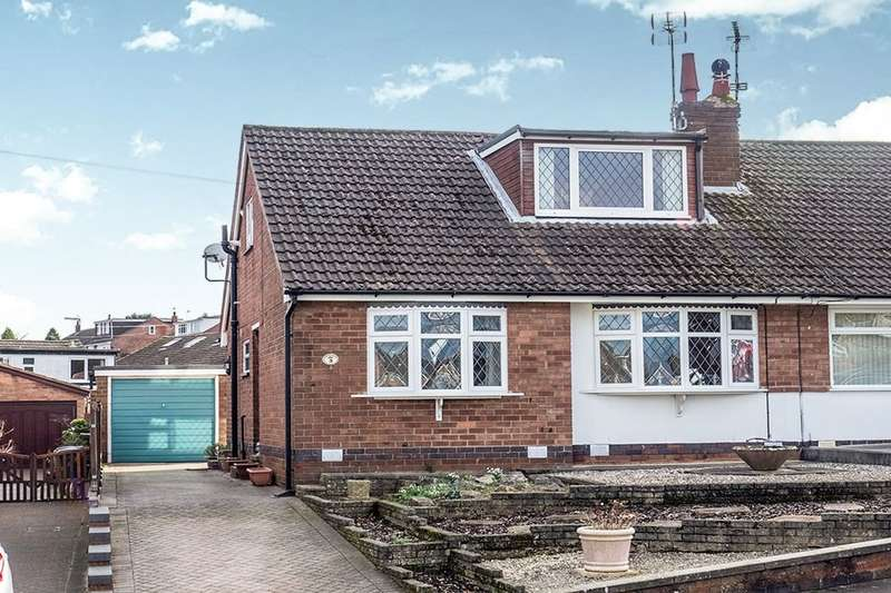 2 Bedrooms Semi Detached Bungalow for sale in Napton Green, Coventry, CV5