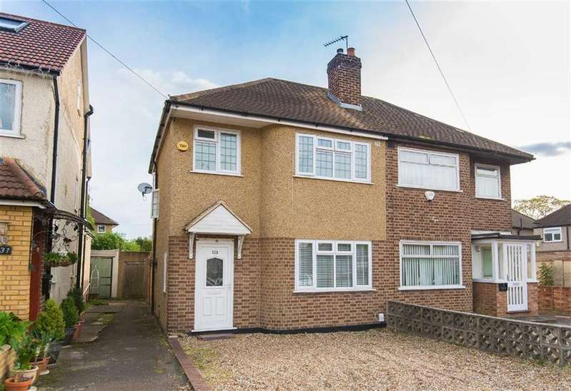 3 Bedrooms Semi Detached House for sale in Parkfield Crescent, South Ruislip, Middlesex