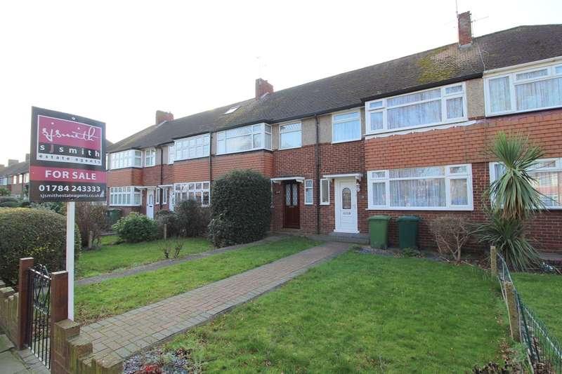 3 Bedrooms Terraced House for sale in Elgin Avenue, Ashford, TW15