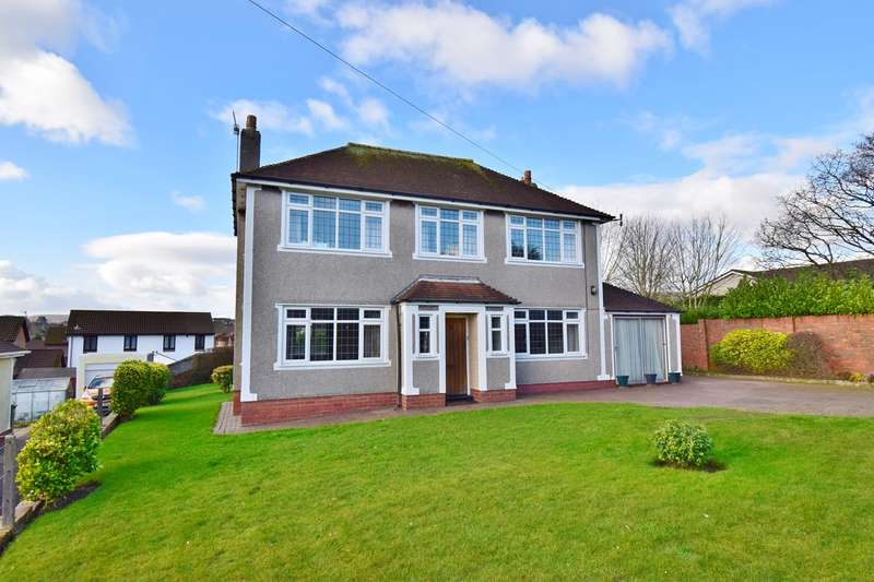 3 Bedrooms Detached House for sale in St Cenydd Road, CAERPHILLY, CF83