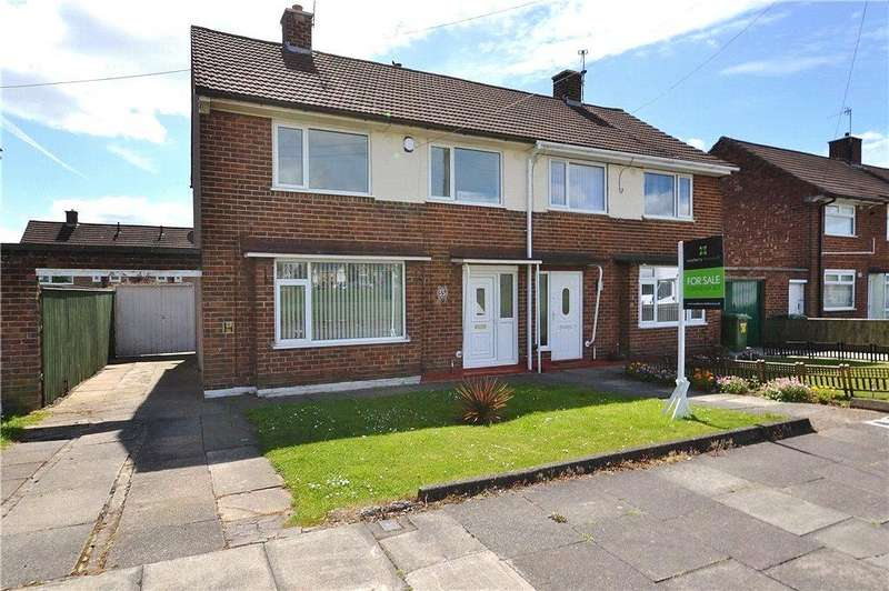 3 Bedrooms Semi Detached House for rent in Redbrook Avenue, Roseworth, Stockton-On-Tees