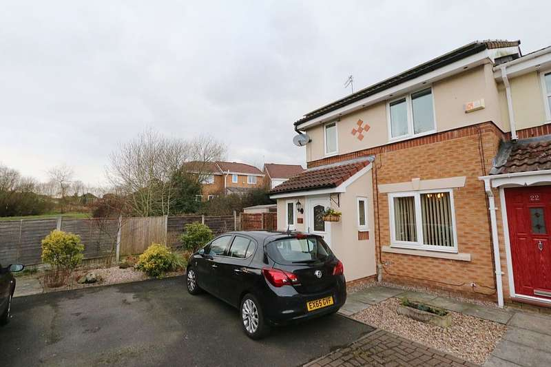 3 Bedrooms Semi Detached House for sale in Gilwood Grove, Middleton, Manchester, Greater Manchester, M24 6TH