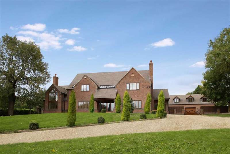 5 Bedrooms Detached House for sale in Clifton Road, Netherseal, Swadlincote Derbyshire
