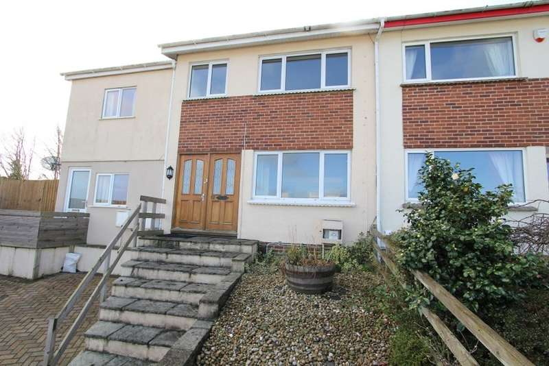 3 Bedrooms Terraced House for sale in Foxley Crescent, Newton Abbot