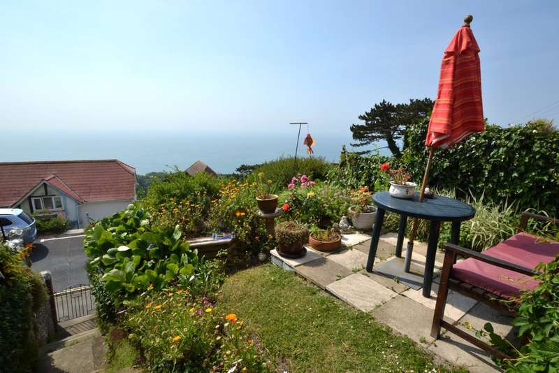 2 Bedrooms Semi Detached House for sale in Gills Cliff Road, Ventnor