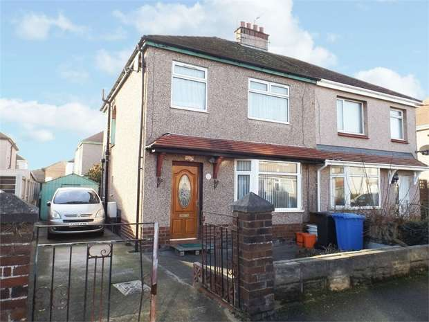3 Bedrooms Semi Detached House for sale in Netley Road, Rhyl, Denbighshire