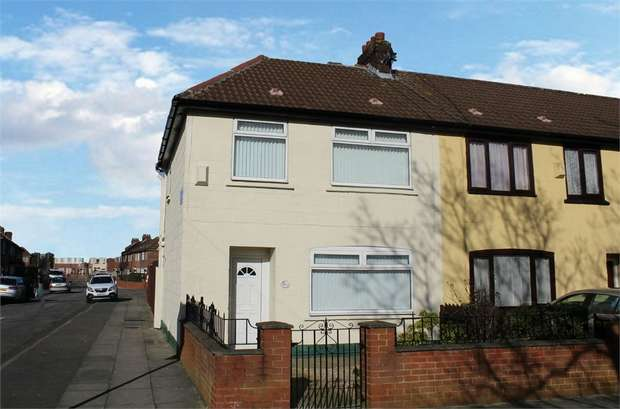 3 Bedrooms End Of Terrace House for sale in Cherry Lane, Liverpool, Merseyside
