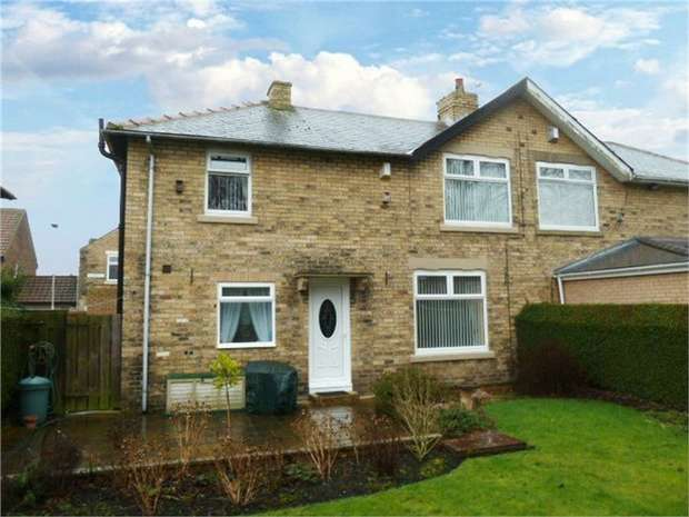 3 Bedrooms Semi Detached House for sale in Ashbourne Crescent, Ashington, Northumberland