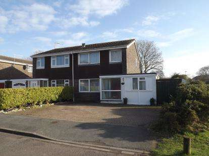 3 Bedrooms Semi Detached House for sale in Burton, Christchurch, Dorset