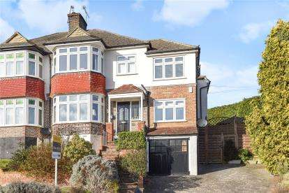 5 Bedrooms Semi Detached House for sale in Wood Lodge Lane, West Wickham