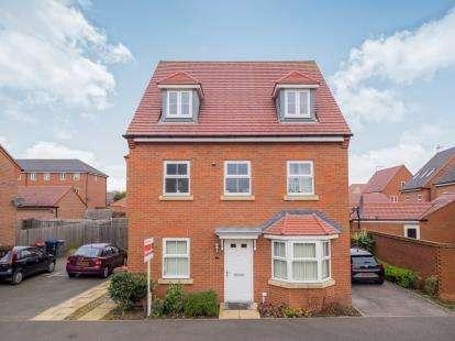 5 Bedrooms Detached House for sale in Boxtree Avenue, Hucknall, Nottingham, Nottinghamshire