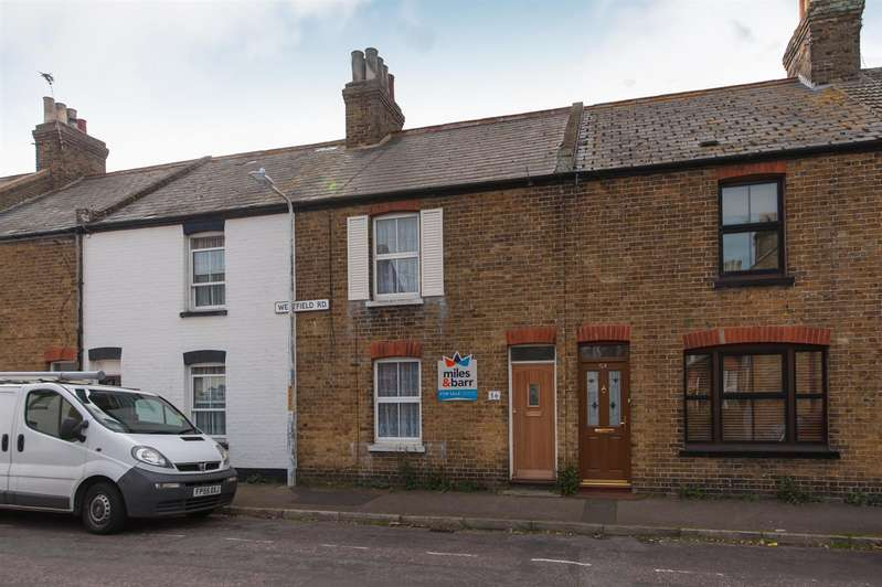 2 Bedrooms Terraced House for sale in Westfield Road, Birchington