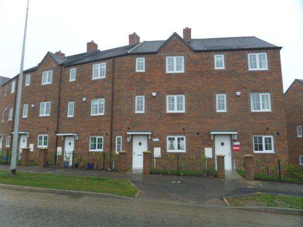 3 Bedrooms Terraced House for sale in STERLING WAY, SHILDON, BISHOP AUCKLAND