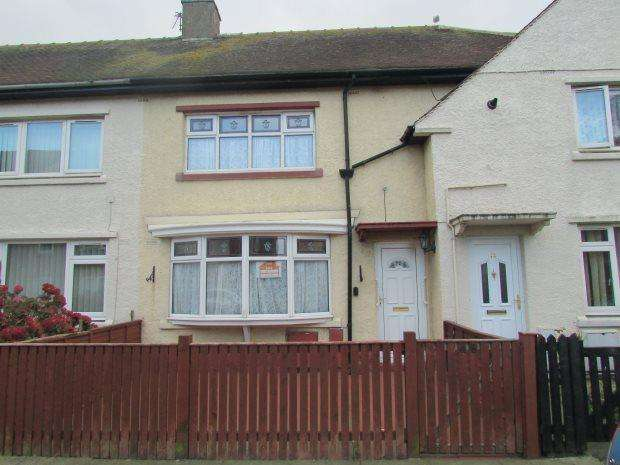 3 Bedrooms Terraced House for sale in SOUTHGATE, HEADLAND, HARTLEPOOL