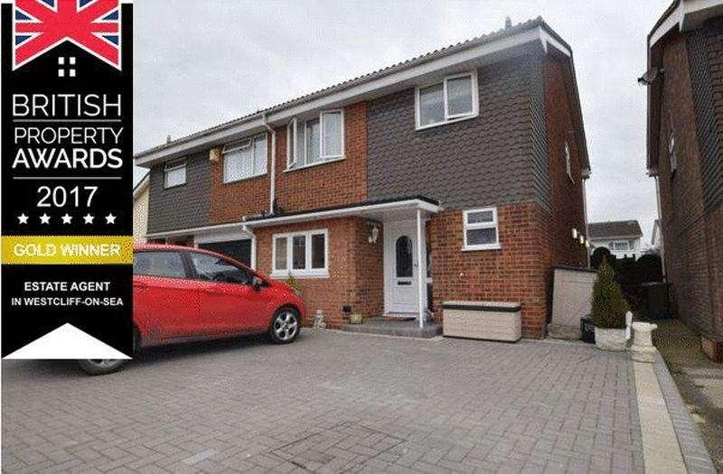 3 Bedrooms Semi Detached House for sale in Lyndene, Benfleet