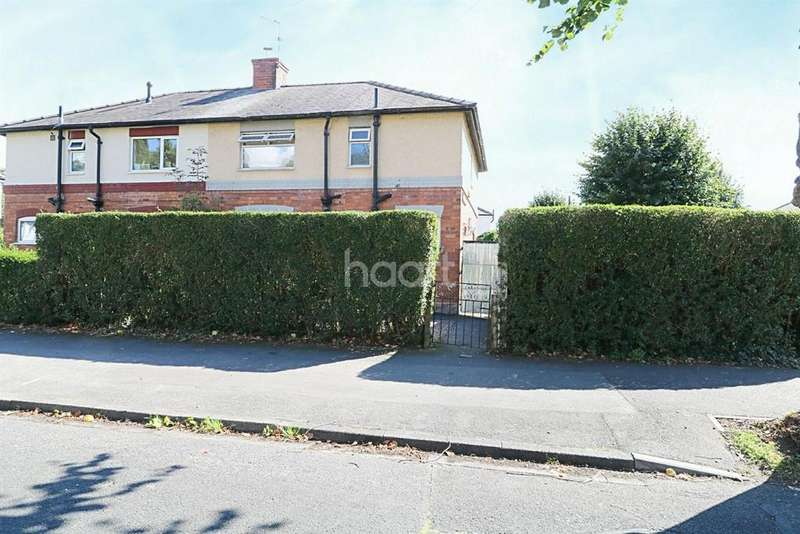 3 Bedrooms Semi Detached House for sale in Clumber Avenue, Newark