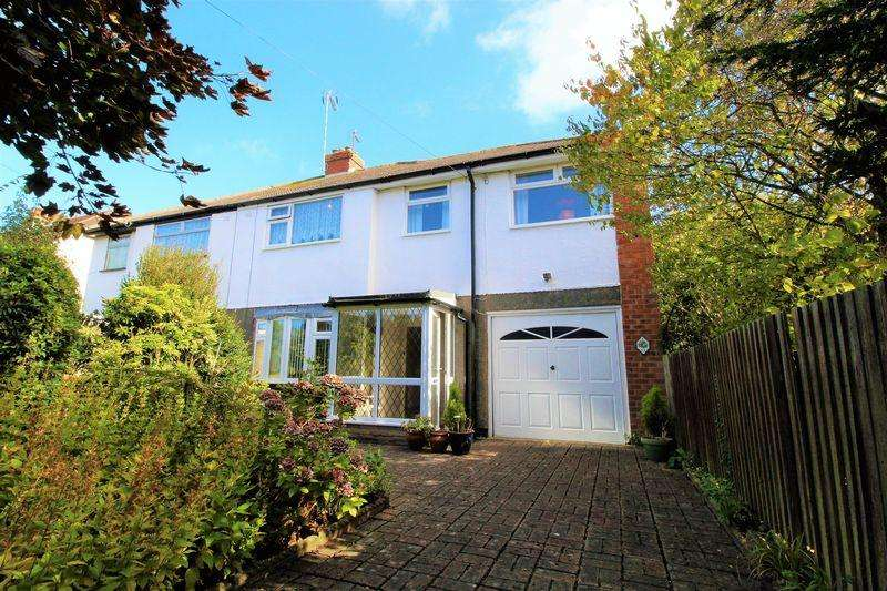 4 Bedrooms Semi Detached House for sale in Coombe Road, Irby