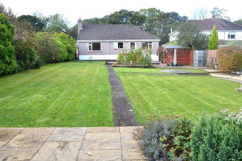 3 Bedrooms Detached Bungalow for sale in Garrod Avenue, Dunvant, Swansea