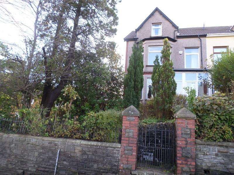5 Bedrooms Semi Detached House for sale in Llanfair Road, Tonypandy