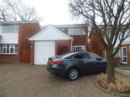 3 Bedrooms Detached House for sale in Joseph Creighton Close, Binley, Coventry, West Midlands
