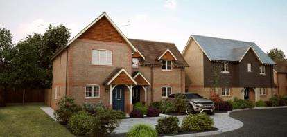 2 Bedrooms Semi Detached House for sale in Clewers Lane, Waltham Chase