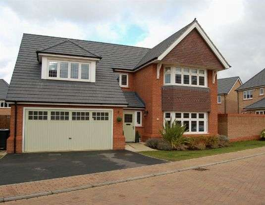 5 Bedrooms Detached House for sale in Silverwell Close, Moulton, Northampton NN3 7BT