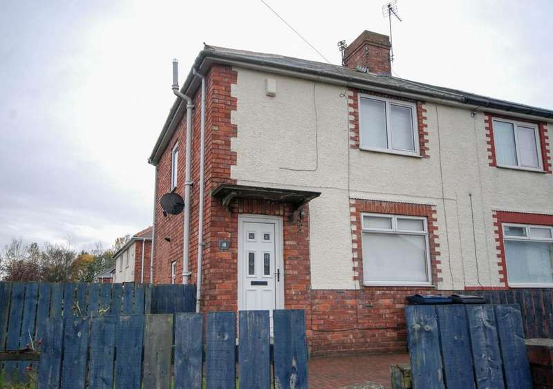 2 Bedrooms Semi Detached House for sale in Haughton Crescent, Jarrow