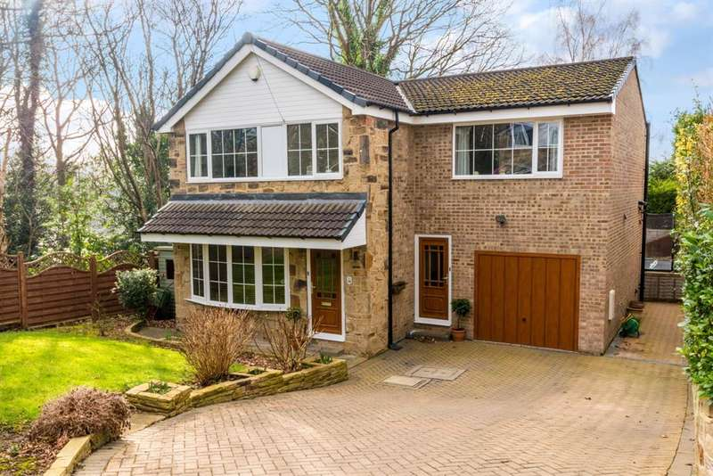 4 Bedrooms Detached House for sale in Craggwood Close, Horsforth, LS18