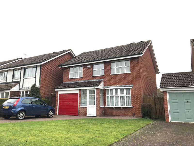 5 Bedrooms Detached House for sale in Withybrook Road, Shirley, Solihull, B90 2RZ