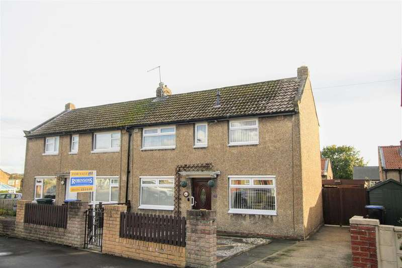 3 Bedrooms Semi Detached House for sale in Eden Crest, Gainford, Darlington