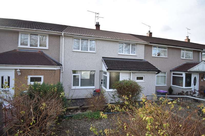 2 Bedrooms Terraced House for sale in Hazel Walk, Croesyceiliog, Cwmbran, NP44