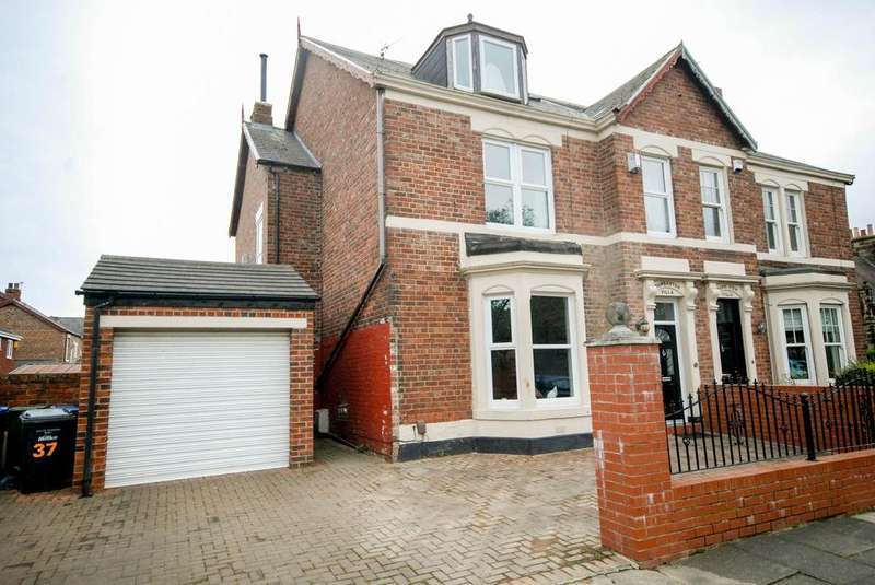 6 Bedrooms Semi Detached House for sale in Park Road, Jarrow