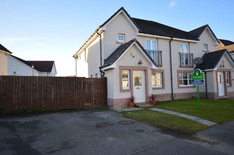 3 Bedrooms Semi Detached House for sale in Woodgrove Gardens, Inverness, IV2