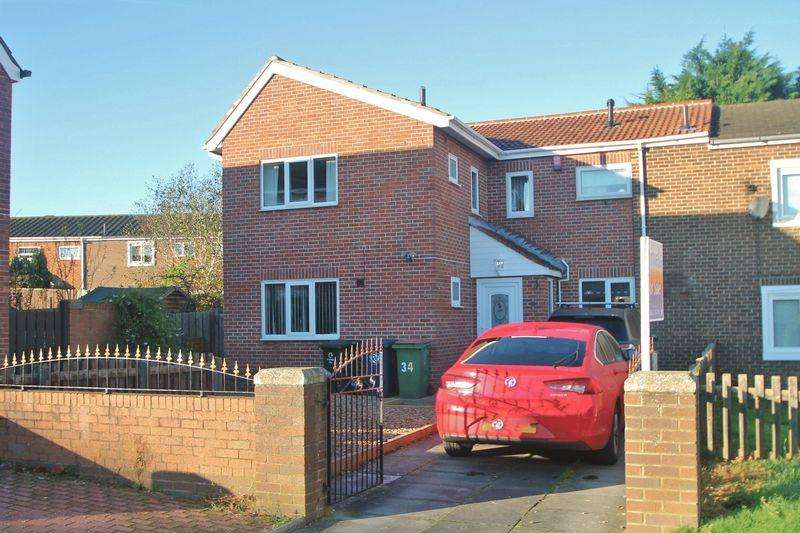 4 Bedrooms Semi Detached House for sale in Garsbeck Way, Middlesbrough