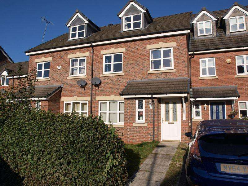 4 Bedrooms Terraced House for sale in Drillfield Road, Northwich, CW9 5HU