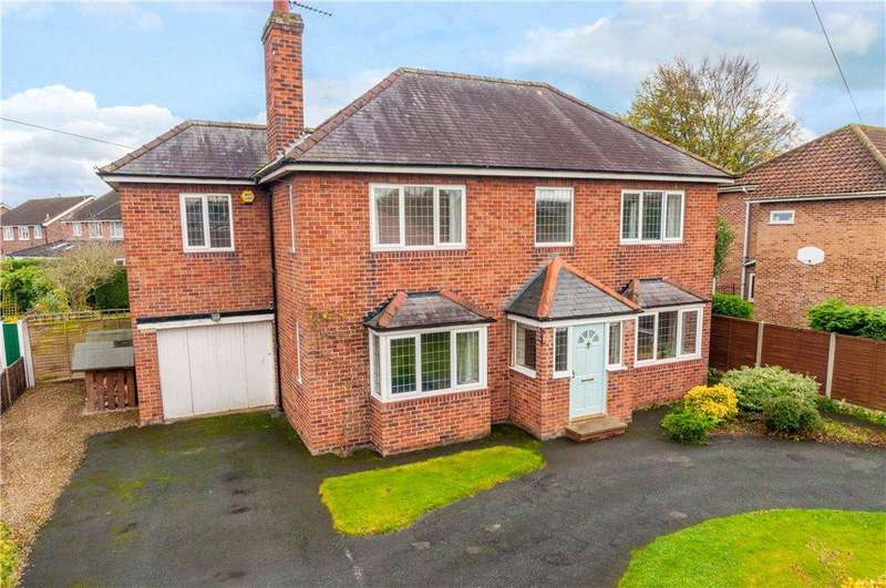 4 Bedrooms Detached House for sale in Whitcliffe Lane, Ripon, North Yorkshire