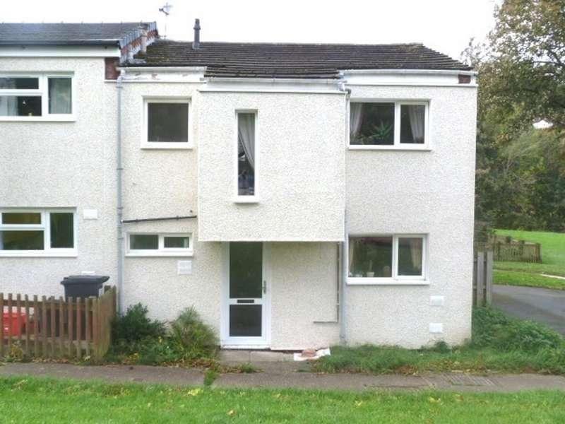 3 Bedrooms End Of Terrace House for sale in 210 Lon Masarn, Trehafren, Newtown
