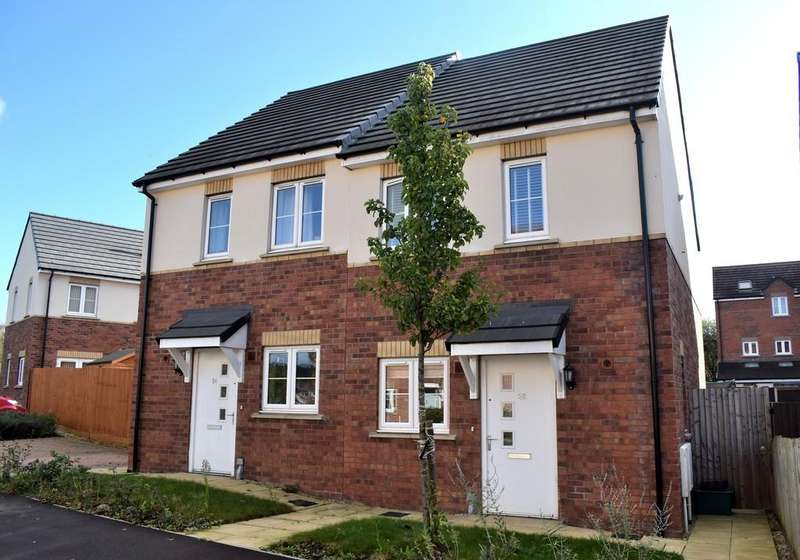 2 Bedrooms Semi Detached House for sale in Par Four Lane, Lydney